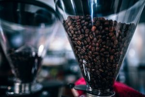Coffee At The Push Of A Button – Electric Coffee Grinder